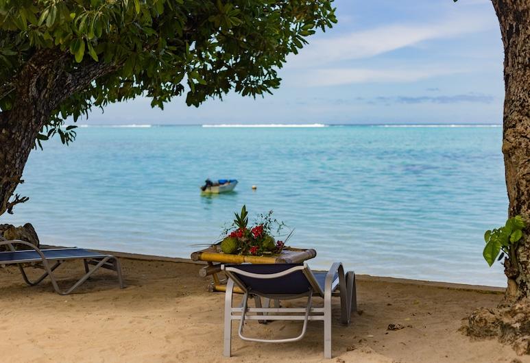 Fare Edith - Near Painapo Beach, Moorea-Maiao, Strand