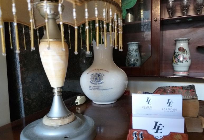 Le Lodge Ninh Binh, Ninh Binh, Recepce