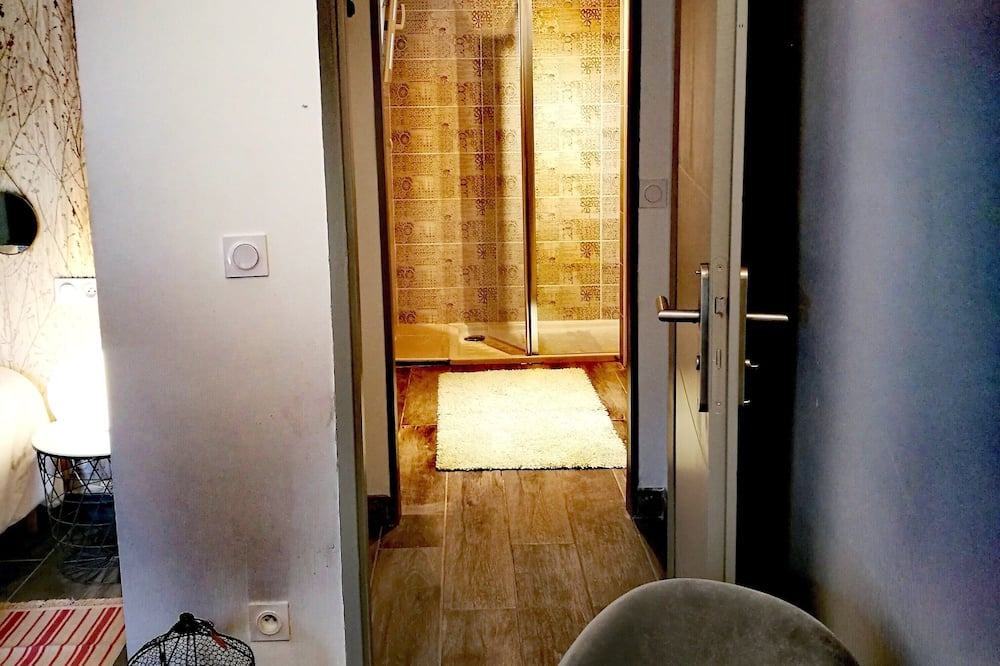 Chambre Double, non-fumeurs (23m²) - Douche de la salle de bain