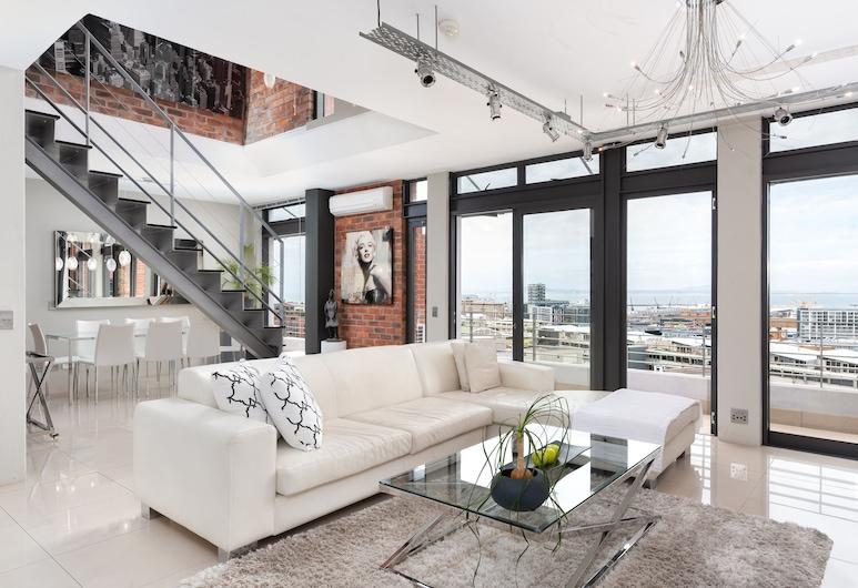 Metropolis Luxury Apartments, Cape Town, Penthouse, 3 Bedrooms, Living Area