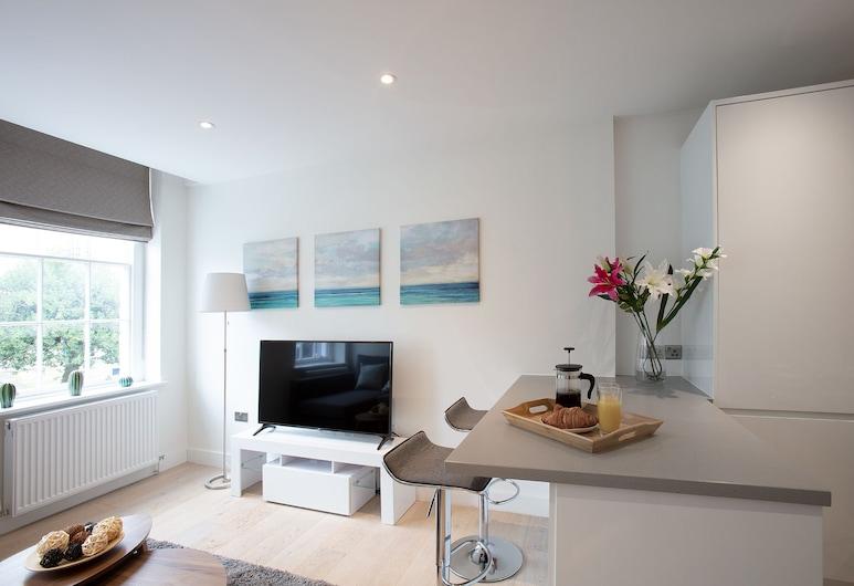Hampden Apartments - The George, Windsor, Appartement Confort, 2 chambres, non-fumeurs, Chambre