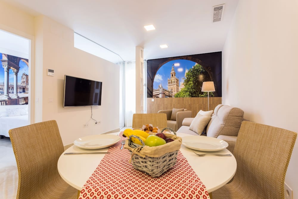 Deluxe apartman, 1 spavaća soba - Obroci u sobi