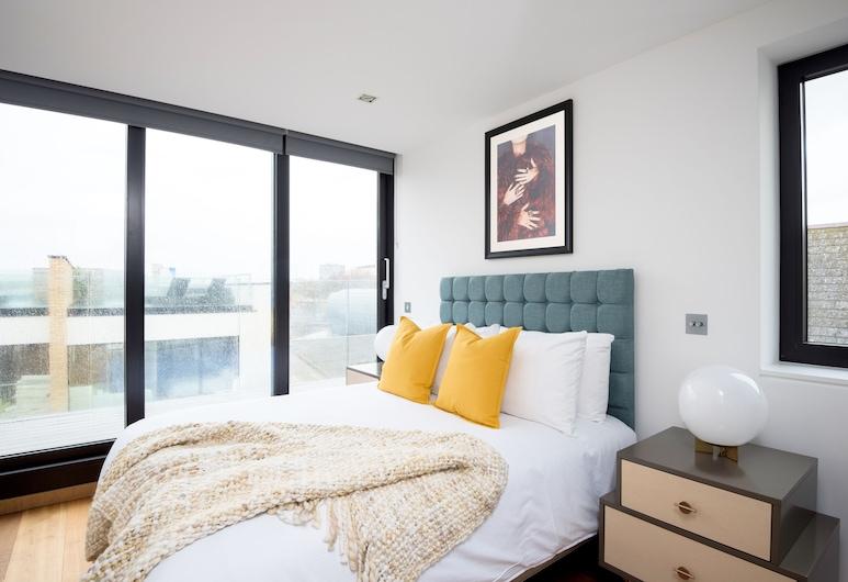 松德爾酒店 - 鼓苑, 倫敦, 尊貴套房, 1 間臥室, 露台, 客房