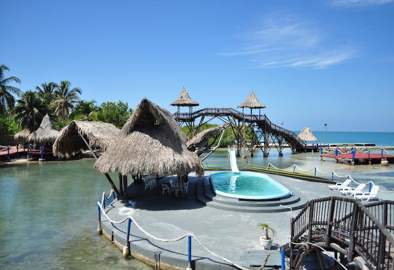Mucura Club Hotel, Isla Mucura, Ulkouima-allas