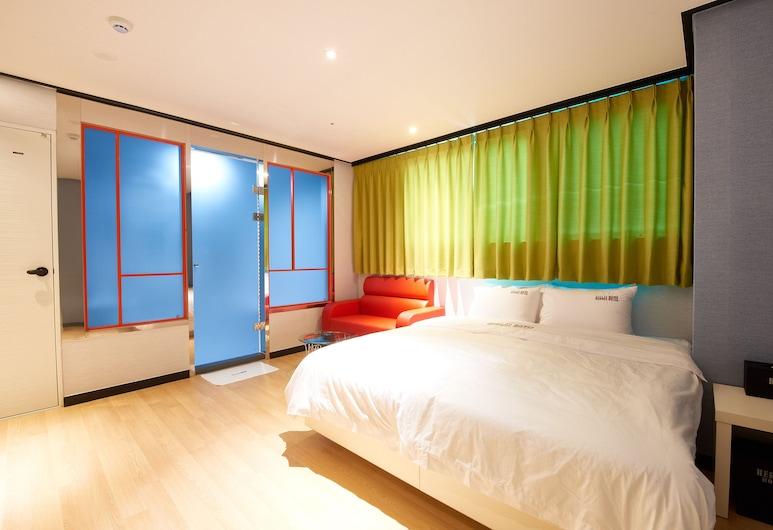 赫米斯飯店, 釜山, 高級雙人房, 客房