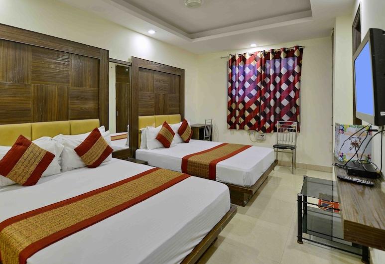 D Inn, Yeni Delhi, Deluxe Tek Büyük Yataklı Oda, Oda