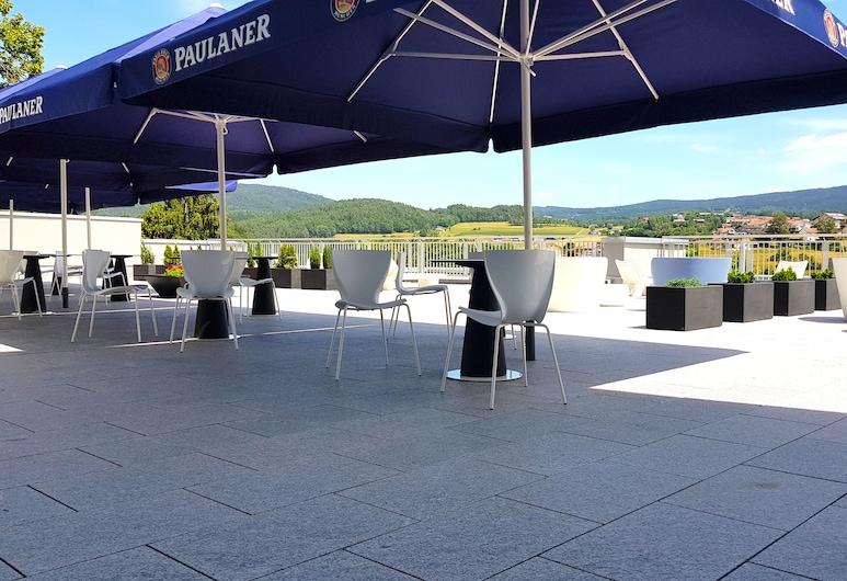 Hotel Schmaus, Viechtach, Terraza o patio