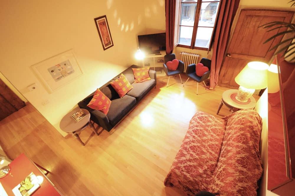 Apartamentai, 2 miegamieji - Svetainės zona
