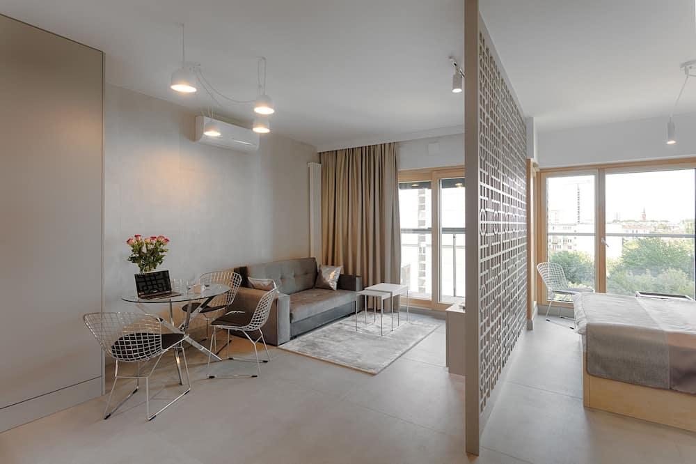 Apartamentai, 1 standartinė dvigulė lova, Nerūkantiesiems - Svetainės zona