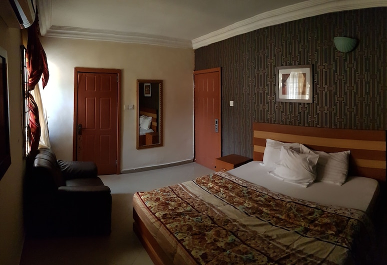 Ritman Hotel Gwarinpa, Abuja, Pokoj typu Deluxe, Pokoj