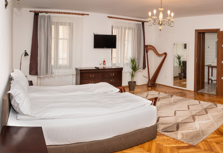 موزيك أبارتمنتس أولد تاون, سيبيو, Piano Apartament, الغرفة