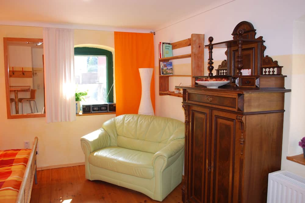 Basic Double Room - Living Area