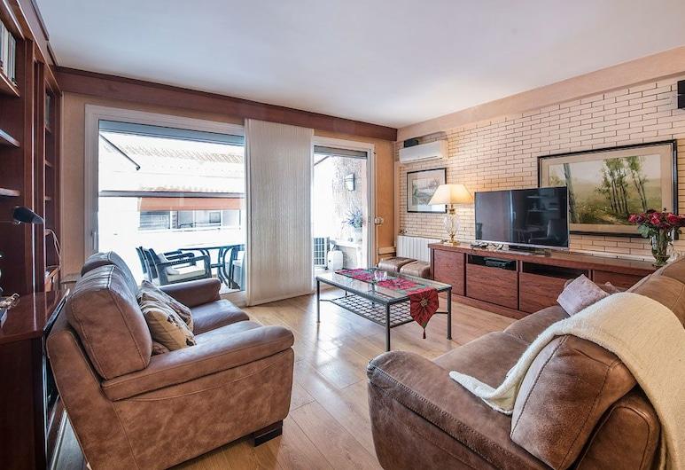 Apartamentos Montserrat, Calafell, Lejlighed, 2 soveværelser, Opholdsområde