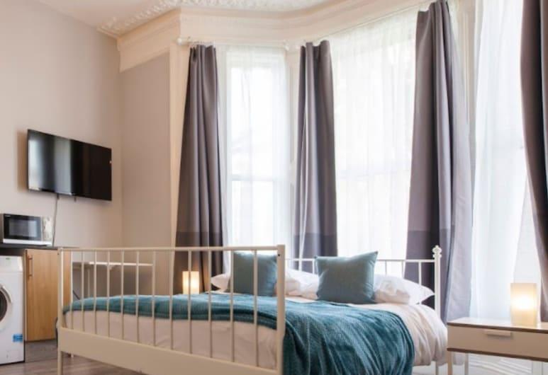 Bright and Cosy Studio, in London, London, apartman (0 Bedroom), Szoba