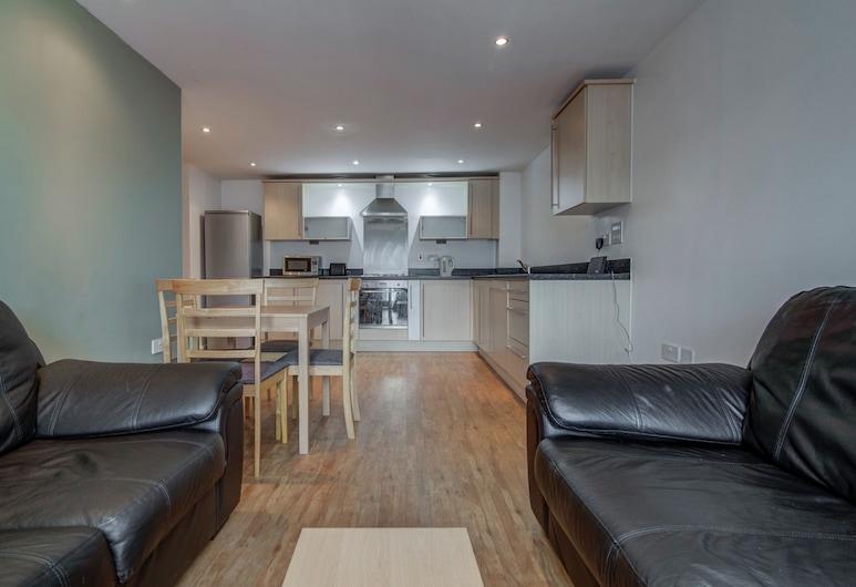 Bright & Modern 2-bedroom Flat - Sleeps 4, Manchester, Lõõgastumisala