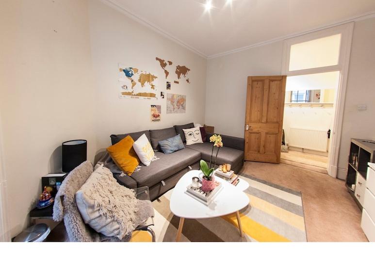 Cosy, Modern Flat in Covent Garden, London, Lägenhet - 1 sovrum, Vardagsrum