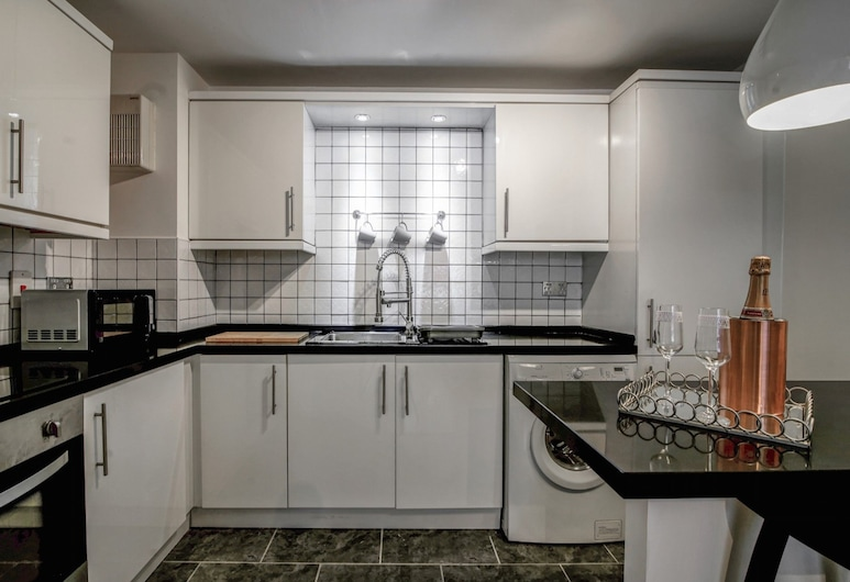 Gorgeous and Modern, Central Manchester apt for 6, Manchester, Privatna kuhinja