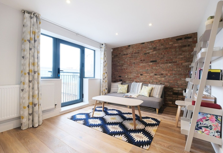 Quiet, Convenient 1BR Flat for 4 in Greenwich, Londýn