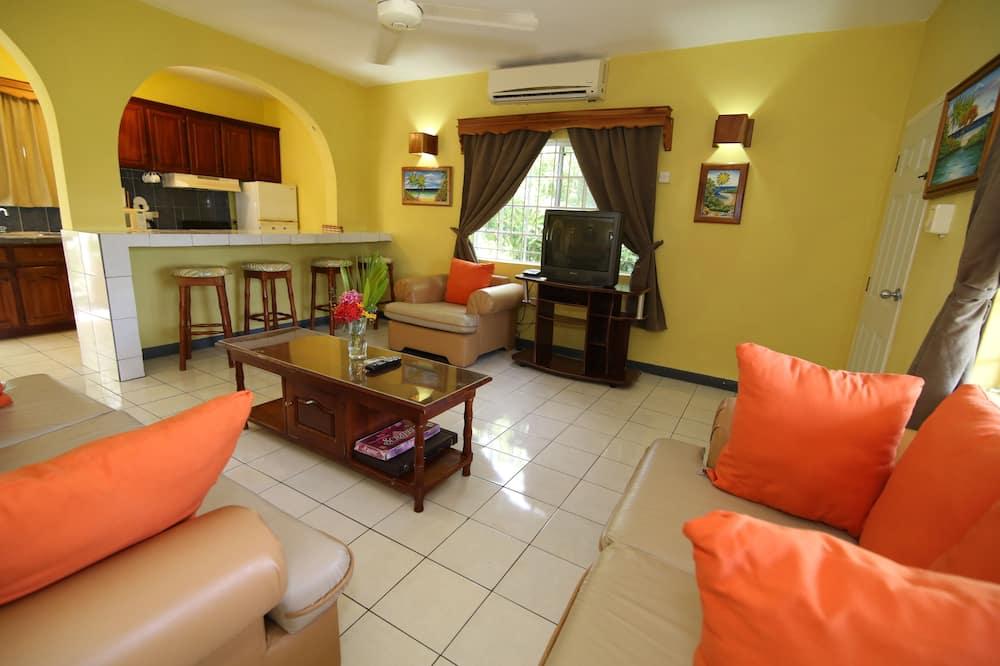 Deluxe Apart Daire, 2 Yatak Odası, Mutfak - Oturma Alanı
