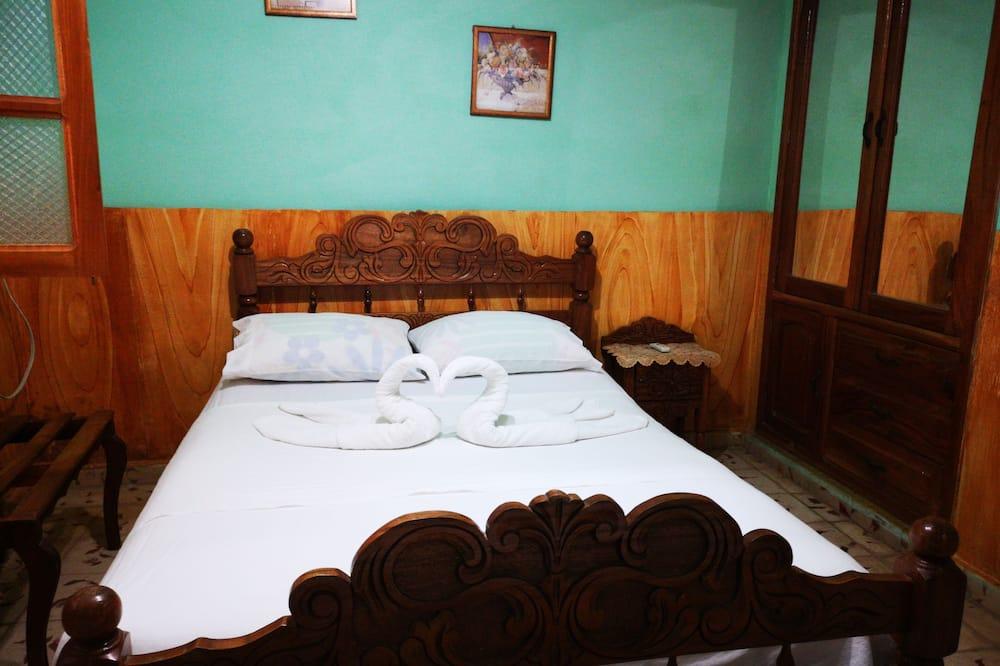 Třílůžkový pokoj typu Comfort, více lůžek, výhled do dvora - Koupelna