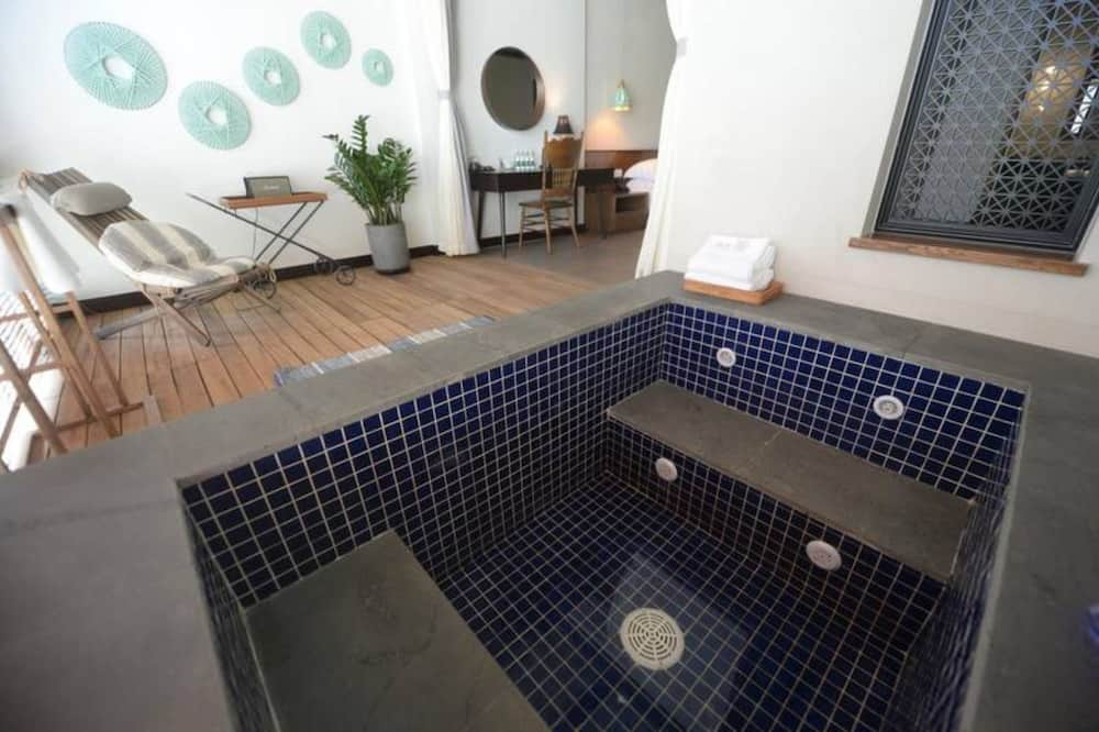 Phòng đôi, Quang cảnh vườn - Bồn tắm spa riêng
