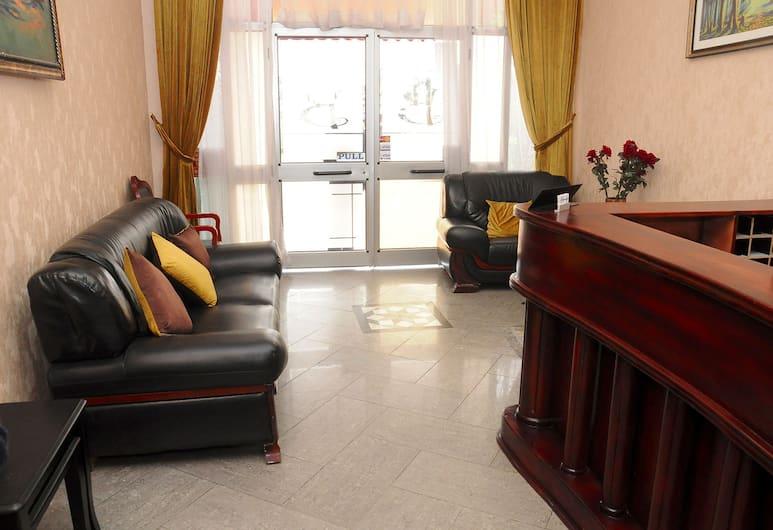 Baks Hotel Apartment, Addis Ababa, Lobby