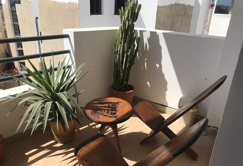 萊埃自由 6 號普拉斯住宿酒店, 達卡, 露台景觀