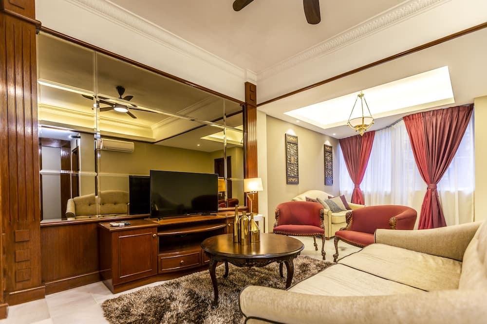 Premium Apartment - Living Room
