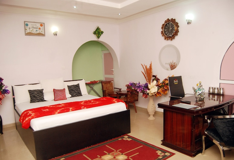 mmmHouse Abuja, Abuja, Pokój dla 1 osoby Exclusive, Pokój