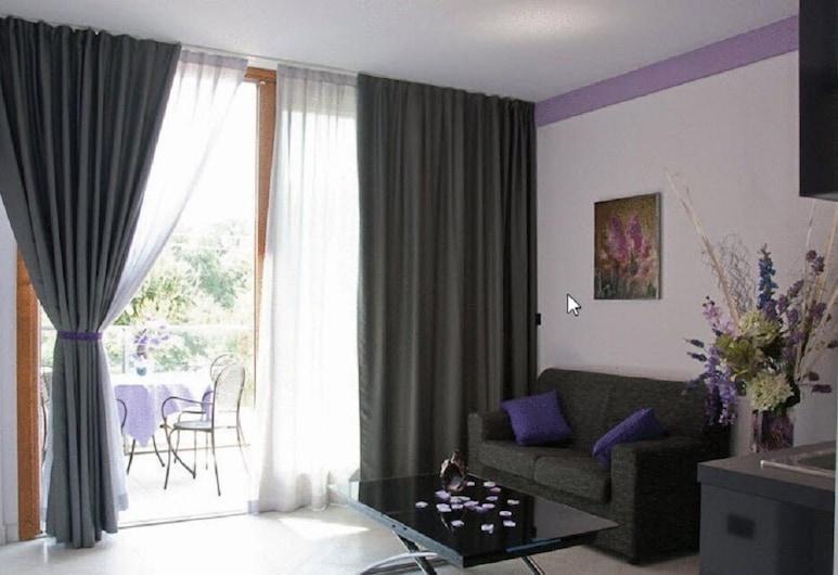 Green della Reggia Residence, Robassomero, Comfort Apartment, 1 Bedroom, Living Area