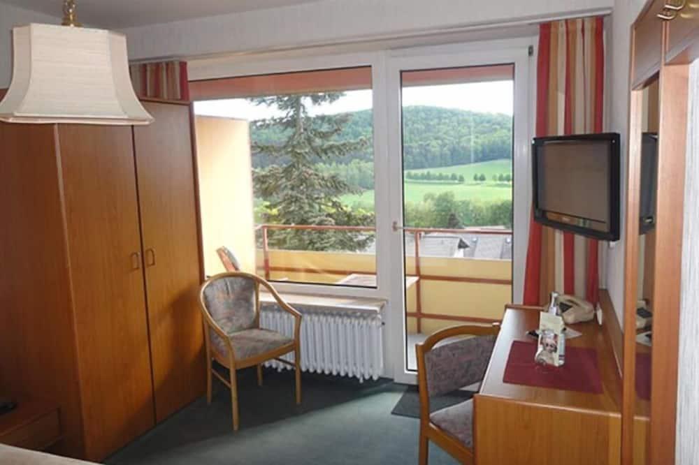 Einzelzimmer (Fernblick) - Wohnbereich