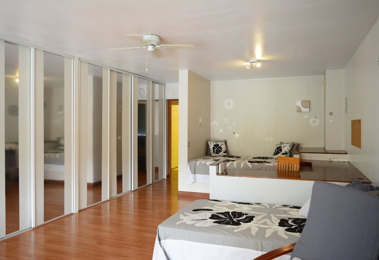 F3 Manuiti Holiday home 2, Punaauia, Ház, több ágy (F3 Manuiti), Nappali rész
