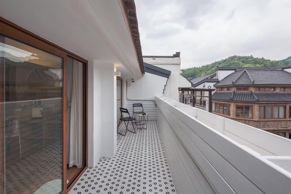 Familjesvit - balkong - Balkong