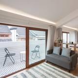 Familjesvit - balkong - Gästrum