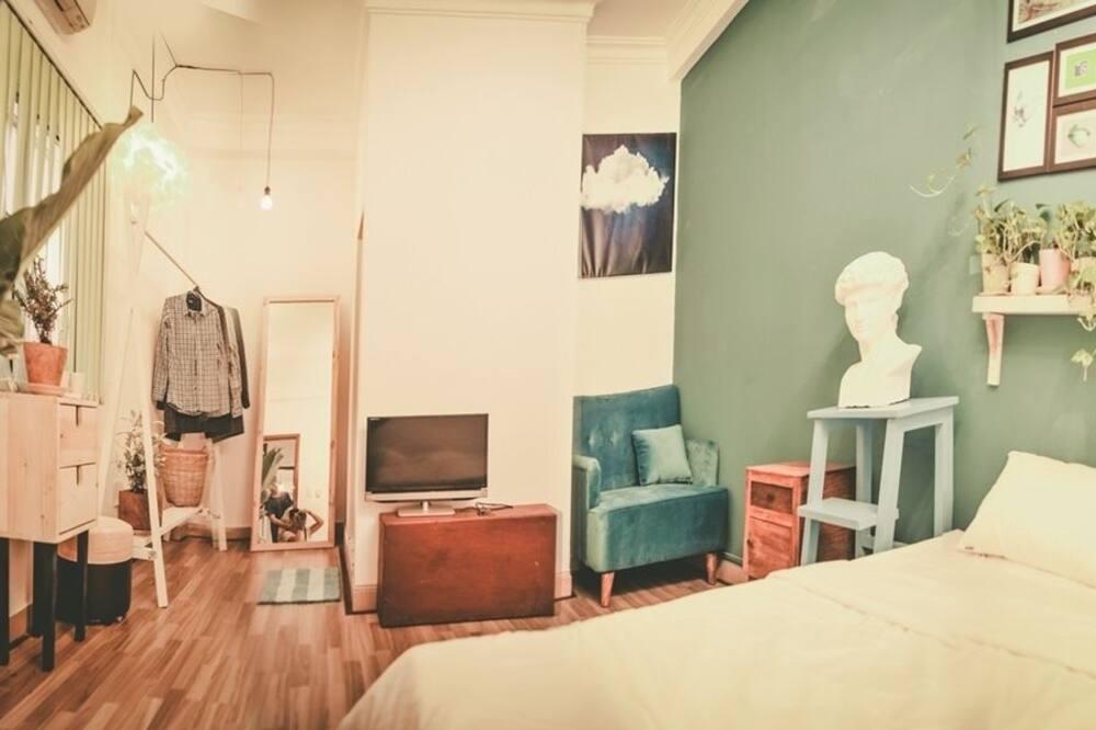 Romantisches Doppelzimmer, 1 Schlafzimmer, eigenes Bad - Zimmer