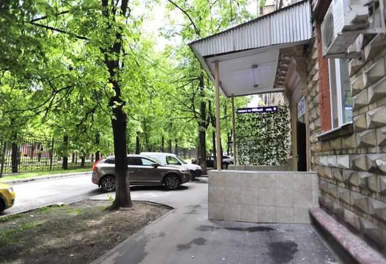 Hostel Olimpia, Moskwa, Wejście do hotelu