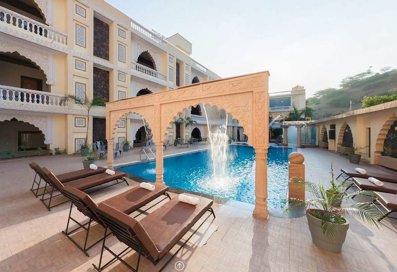 Pushkar City inn, Pushkar, Piscina