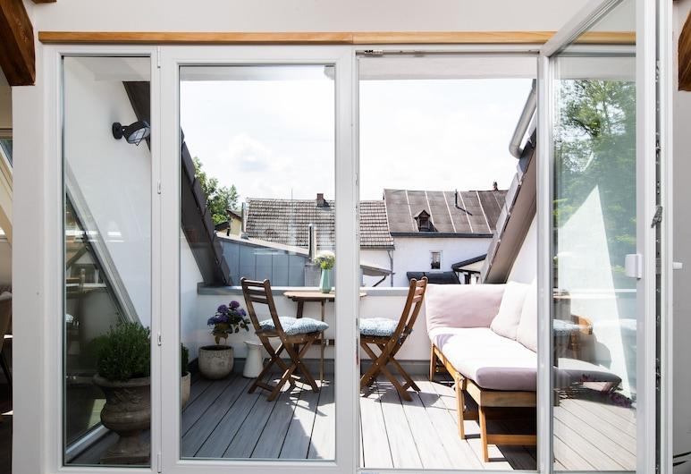 Loft Keane - Vintage Meets Modernity Over the Roofs of Koblenz, Koblenz, Balcony