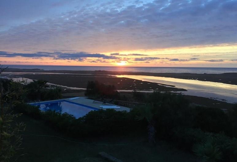 Dar Duccali, Oualidia, Fassade der Unterkunft – Abend/Nacht