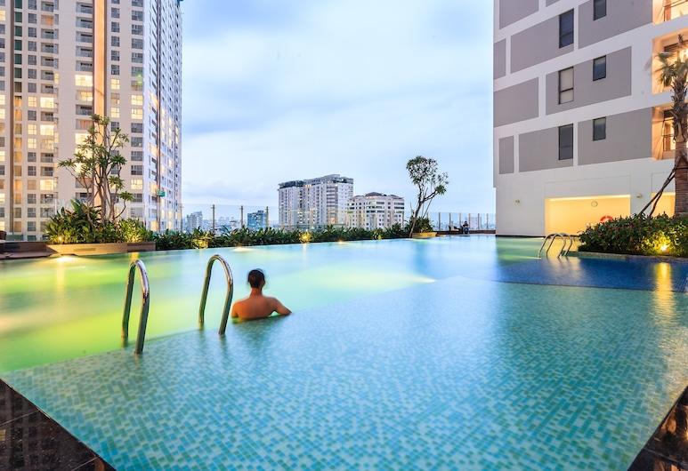 Goby Home in Rivergate Saigon, Ho Chi Minh City, Basic tvåbäddsrum, Privat pool