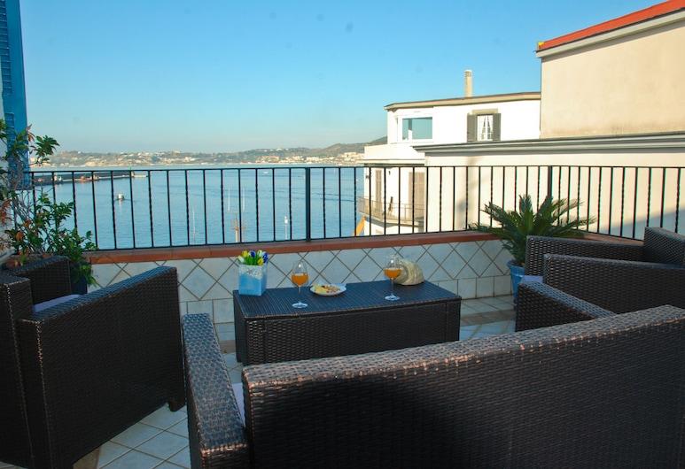 Hotel Darsena, Pozzuoli, Habitación doble, terraza, vistas al mar, Habitación