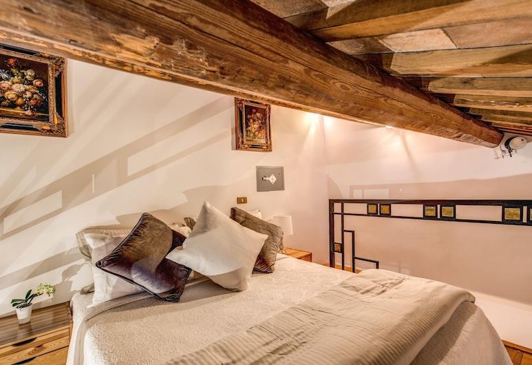 Fresh House Trevi - Near Trevi Fountain, Roma, Departamento tradicional, Varias camas (Trevi 1), Habitación