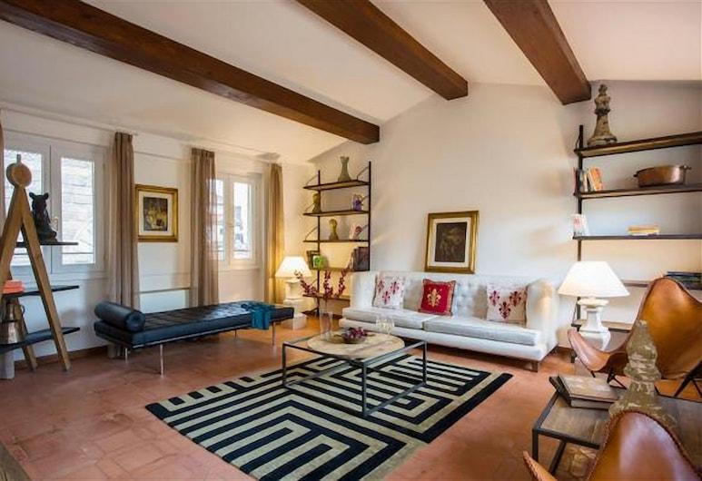 Piazza Della Signoria- LA DIMORA DELL'ARTISTA, Florencia, Apartmán, 2 spálne, Obývacie priestory
