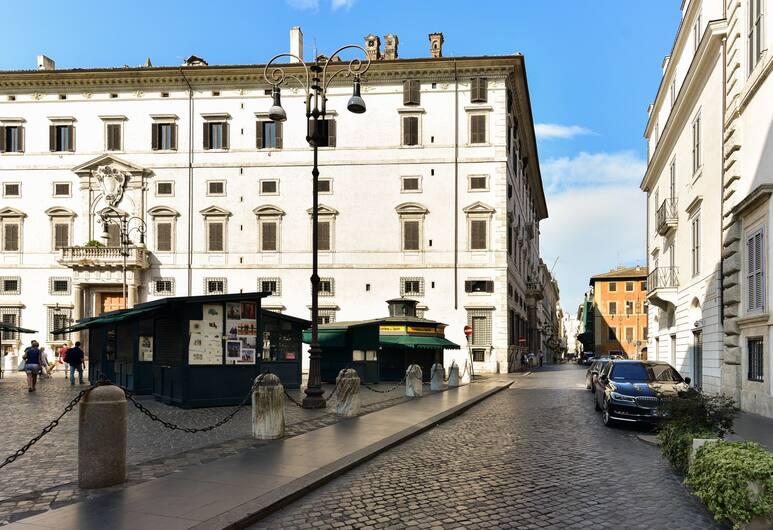 Fresh House Borghese, Rom, Udendørsareal
