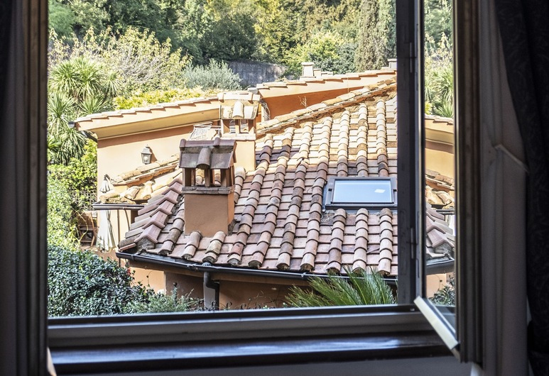 Trastevere Garibaldy Apartments, Rom, Deluxe-lejlighed (Via Garibaldi 38), Værelse