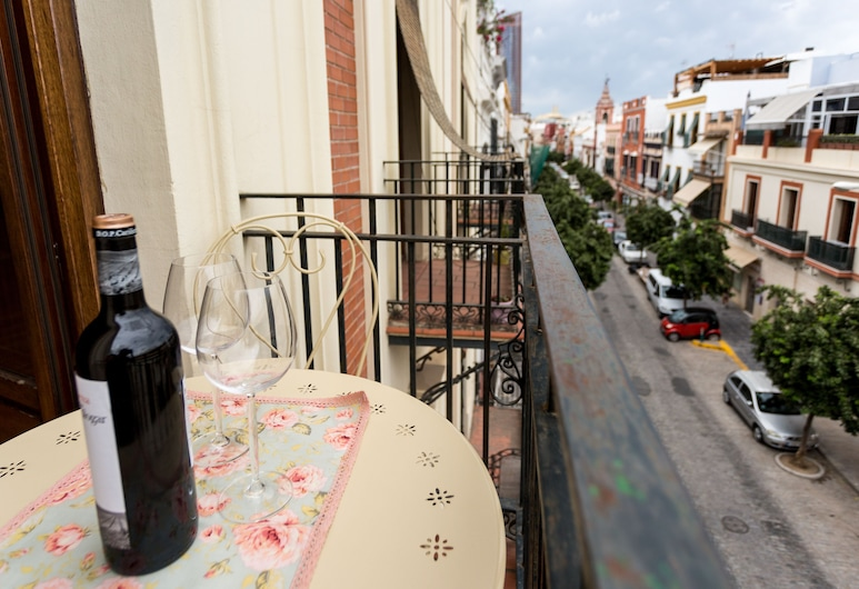 Holi-Rent Balcón Trianero, Sewilla, Apartament, 1 sypialnia, dla niepalących, balkon, Balkon