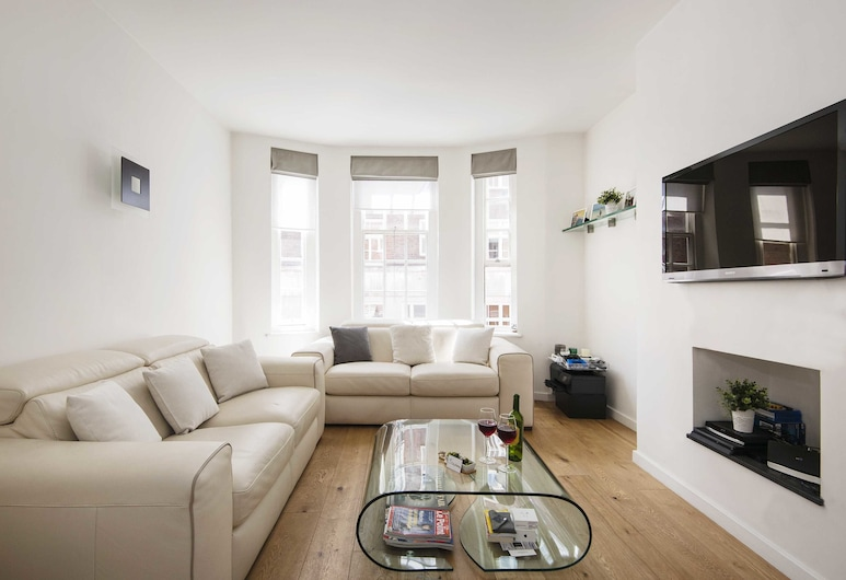 The Mayfair Cocoon - SME, London, Apartment, Wohnbereich