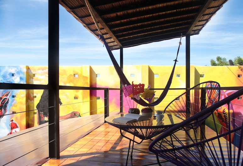 Cabane Container Hotel - Adults Only, Puerto Escondido, Irving Cano, Balkong