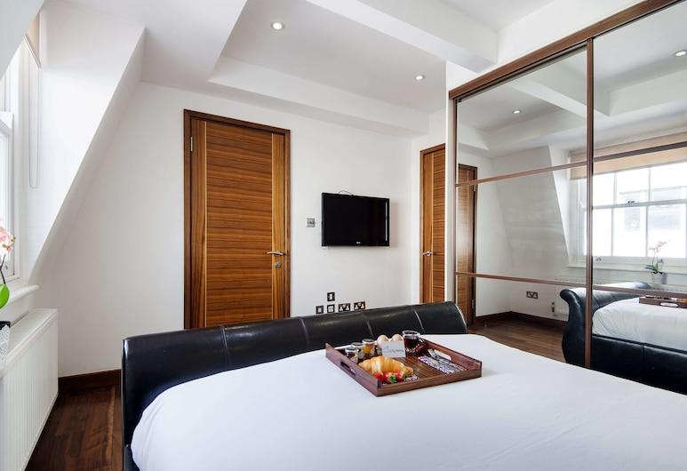 Bright Cleveland Street Apartment - SHS, Λονδίνο, Διαμέρισμα, Δωμάτιο