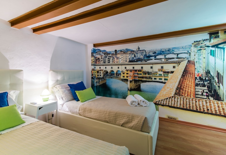 博爾戈阿勒格里阿諾公寓飯店, 佛羅倫斯, 公寓, 2 間臥室, 客房